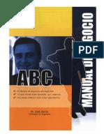 ABC Manual Del Negocio