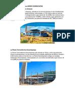 Plantas termoeléctricas