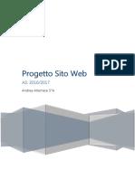 progetto sito-web