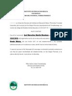Constancia de Estudio 2017 INEB