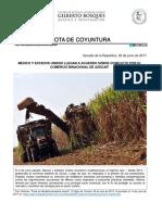 24-06-17 México y Estados Unidos llegan a un acuerdo sobre conflicto por el comercio binacional de azúcar
