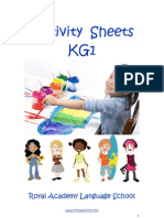 Activity Sheets KG1