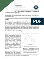 Development and Validation of HPTLC Meth