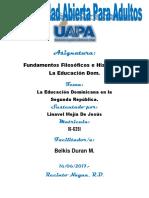Unidad VI Linavel Mejia Fundamentos Filosoficos e Historia Dom.