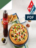 Dominos Pizza Menu Card PDF i11