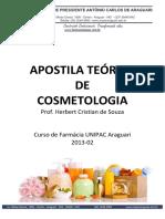 Apostila Teórica Cosmetologia 2013-02
