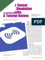 Wireless Sensor Network Simulator Framework