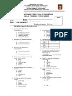 Examen Trimestral de 3er Grado-lva