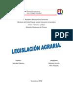 TRABAJO LEGISLACIÓN  AGRARIA.docx
