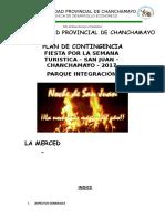 Plan de Contingencia San Juan