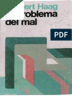 HAAG, H. - El Problema Del Mal - Herder 1981