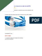 Conecta Tu Pc Con Otra a Traves de Un Cable de Red