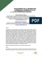 Estrategia - Procesamiento De La Información Mediante El Aprendizaje Cooperativo