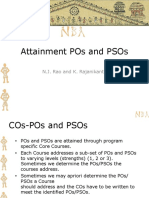 D2S4 PO and PSO Attainment