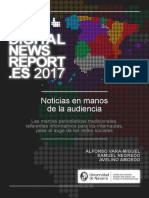 Digital News Report Espana 2017