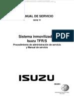 Manual Sistema Inmovilizador Isuzu Tfr s Equipo Electrico Programacion Recalibracion Icu Ecm Procedimiento Diagnostico