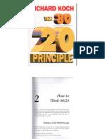 The 80 20 Principle Part 2