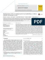 Hydrogenation of CO2 to Methanol and CO
