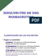Disolventes - Clase