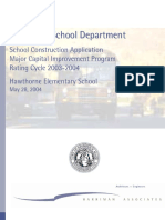 Hawthorne Application 2004