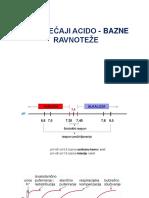 Poremećaji Acido-bazne Ravnoteže - STOM