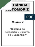 Manual Sistema Direccion Suspension Componentes Clasificacion Mecanismos Elementos Geometria Neumaticos Diagnostico