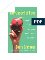 The Gospel of Food Chapter 1