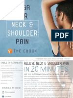 Yoga for Neck and Shoulder Paine Book