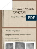 Fingerprint Based Ignition