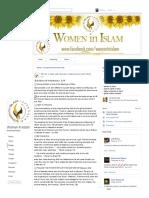 Sunnah for Preganant Women -Women in Islams