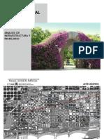 Parc Del Poblenou-barcelona- Análisis de infraestructura y mobiliario