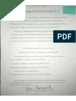 eden declaration