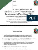 20150227 Inspección Visual y Evaluación de Deterioros en Pavimentos Asfálticos de Carreteras Con VIZIR