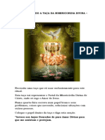 Faça Seu Pedido a Taça Da Misericordia Divina - Jose Gabriel Uribe - Agesta