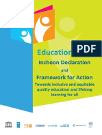Incheon Framework for Action En