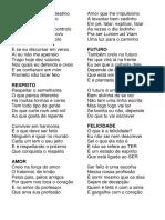 Discurso Em Verso