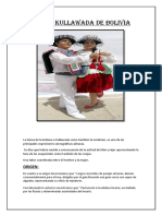 Danza Kullawada de Bolivia