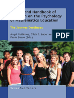 The Second Handbook on the Psychology of Mathematics Education