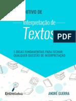 GUIA DEFINITIVO DE INTERPRETAÇÃO DE TEXTOS