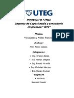 Carpeta de Presentación de Empresa Xyz