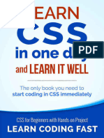 Learn CSS in One Day and Learn It Well - Jamie Chan
