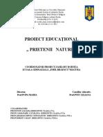 0 Proiect Prietenii Naturii