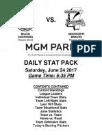 6.24.17 vs. MIS Stat Pack