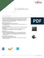 Ds Lifebook e544 De
