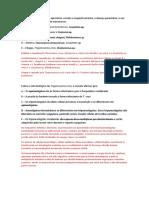 Revisão Parasitologia - 1 Avaliação