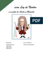 La Tercera Ley de Newton