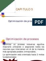 5.1 Optimización de Procesos