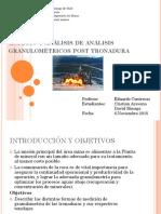 Estudio y Análisis de Análisis Granulométricos Post Tronadura