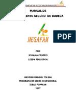 Manual de Procedimiento Seguro de Bodega PDF