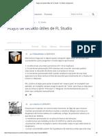 Atajos de Teclado Útiles de FL Studio _ FL Studio _ Hispasonic